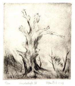 Landschaft III 15,2x13,5cm