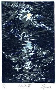Nacht II 15,7x10,4 cm
