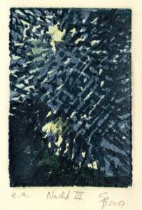 Nacht III 10x7 cm