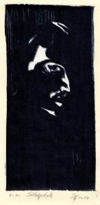 Selbstporträt 23,5x11,3 cm